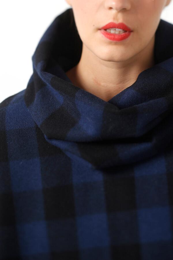 I AM Patterns - Patron de couture Cape Mimosa originale détail col