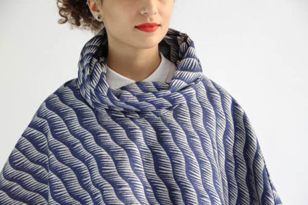 I AM Patterns - Patron de couture Cape Mimosa zoom col