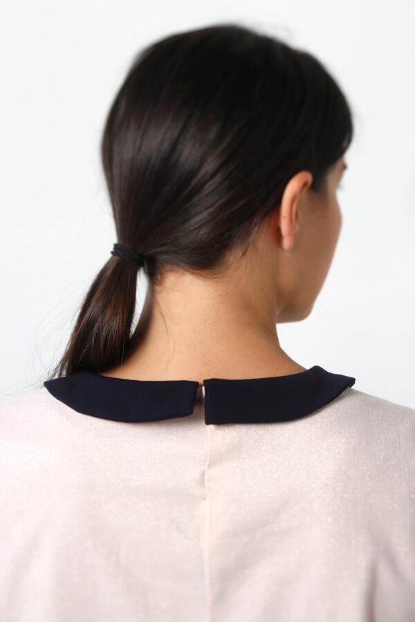 I AM Patterns patron de couture Orion Robe Chemisier top zoom dos