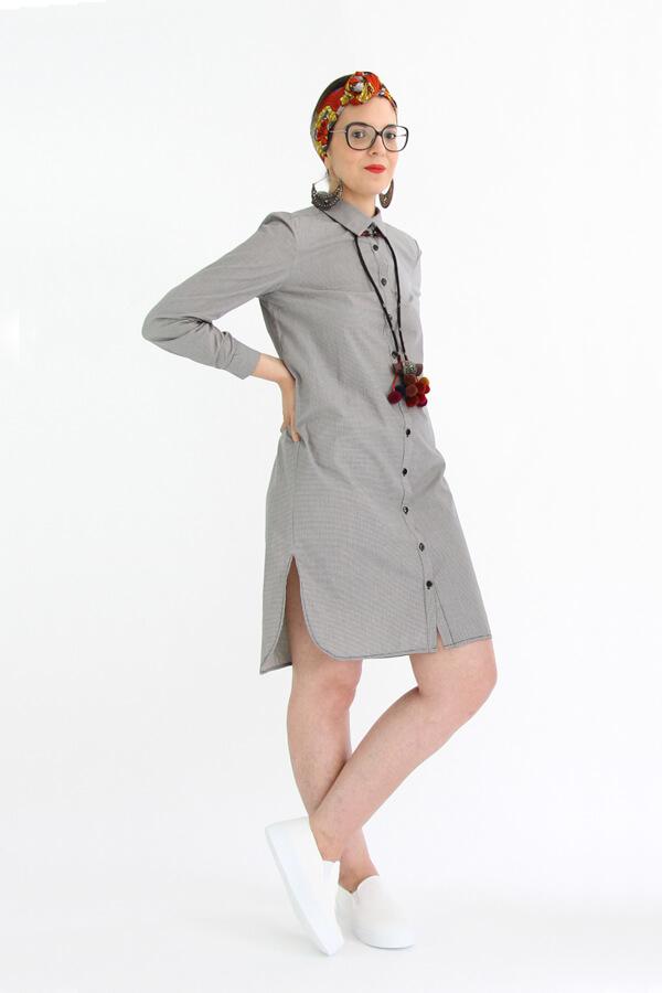 I AM Hermes patron de couture chemise femmes tunique