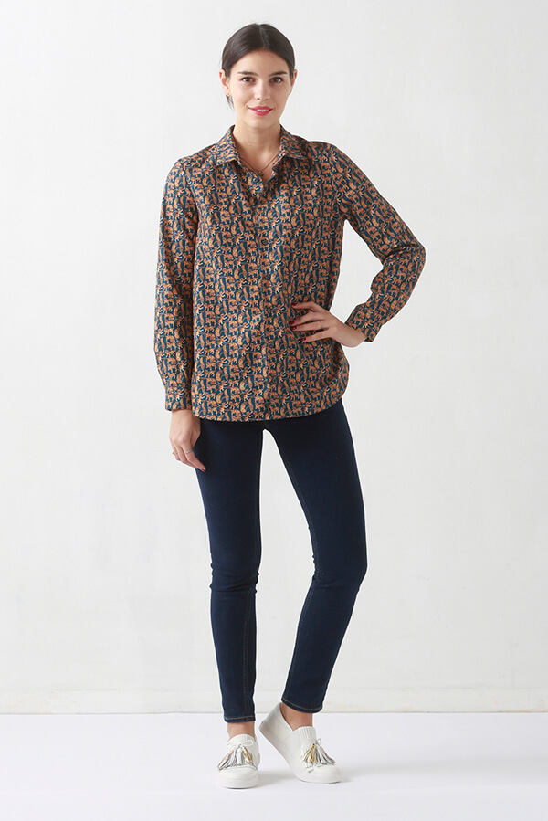 I AM Patterns Sewing Pattern Hermes Shirt Tunic Dress