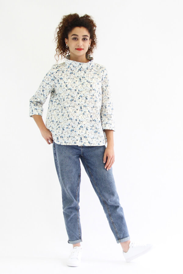 I AM Patterns - ladies sewing patterns - Libellule shirt