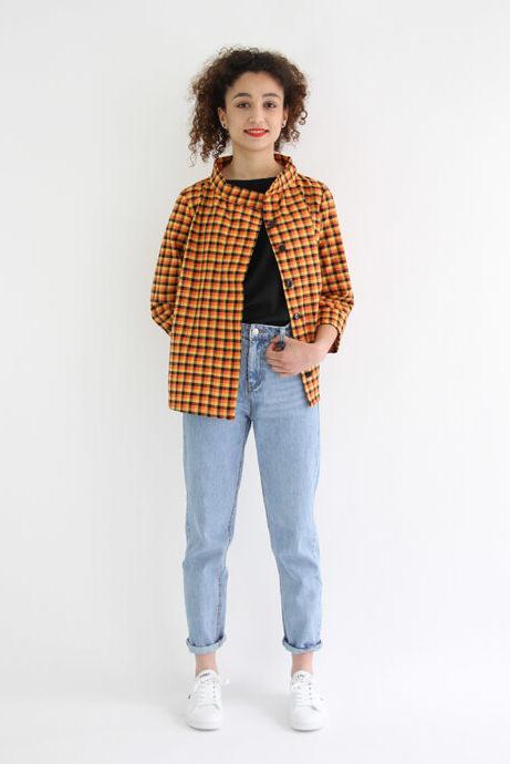 I AM Patterns - patron de couture chemise robe Libellule - Malika devant