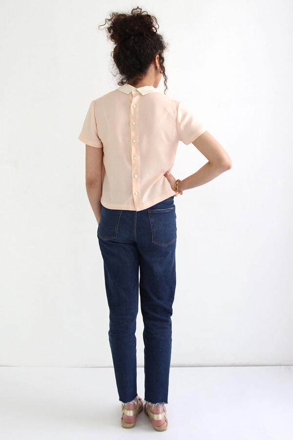I AM Patterns - sewing pattern women - Atelier brunette - Juliette shirt