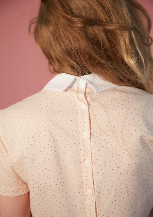 I AM Patterns - Sewing pattern - Juliette shirt - Back zoom