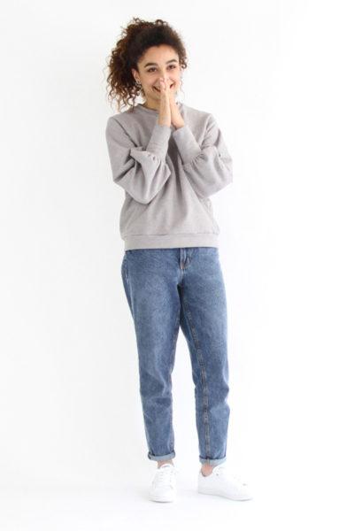 I AM Patterns Patron De Couture Sweatshirt Zebre