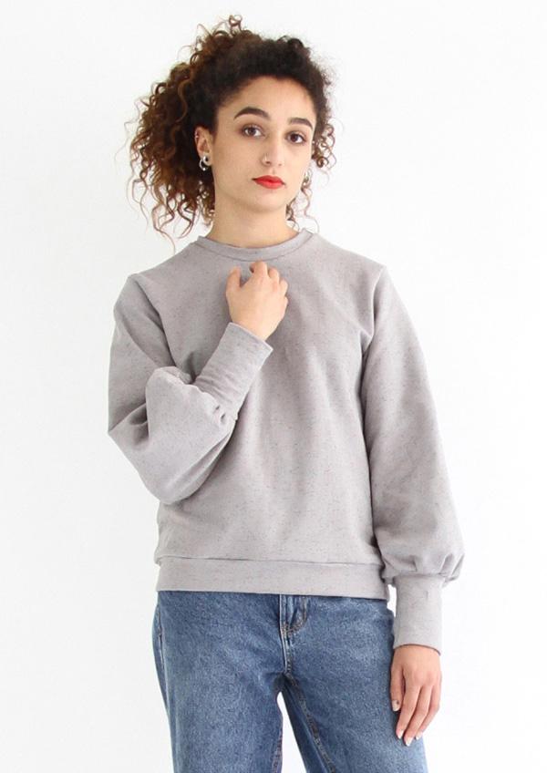 I AM Patterns - Sewing pattern Zebre balloon sweatshirt - Front 5