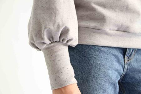 I AM Patterns Patron De Couture Sweatshirt Zebre Detail Manche