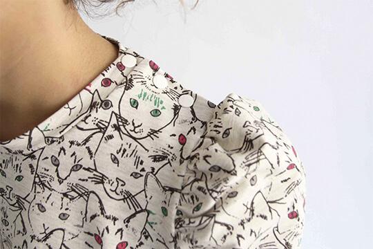 I AM Patterns patron de couture sweatshirt Lion baniere pas-à-pas