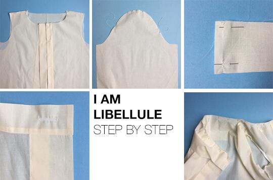 I AM Patterns sewing pattern Libellule women shirt dress coat how to sew banner