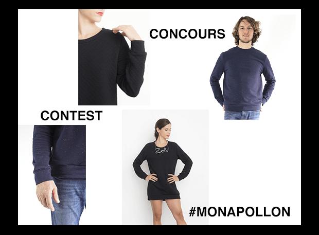 I AM Patterns - patron de couture - concours sweatshirt Apollon bannière