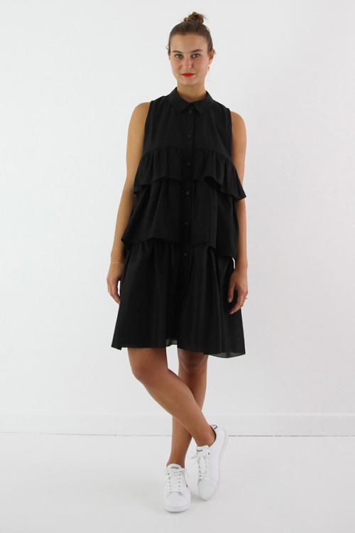 I AM Patterns - ladies sewing pattern - ruffled dress - I AM Magdala