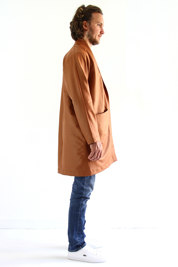 I AM Patterns - Men sewing pattern - Artemis trench profile
