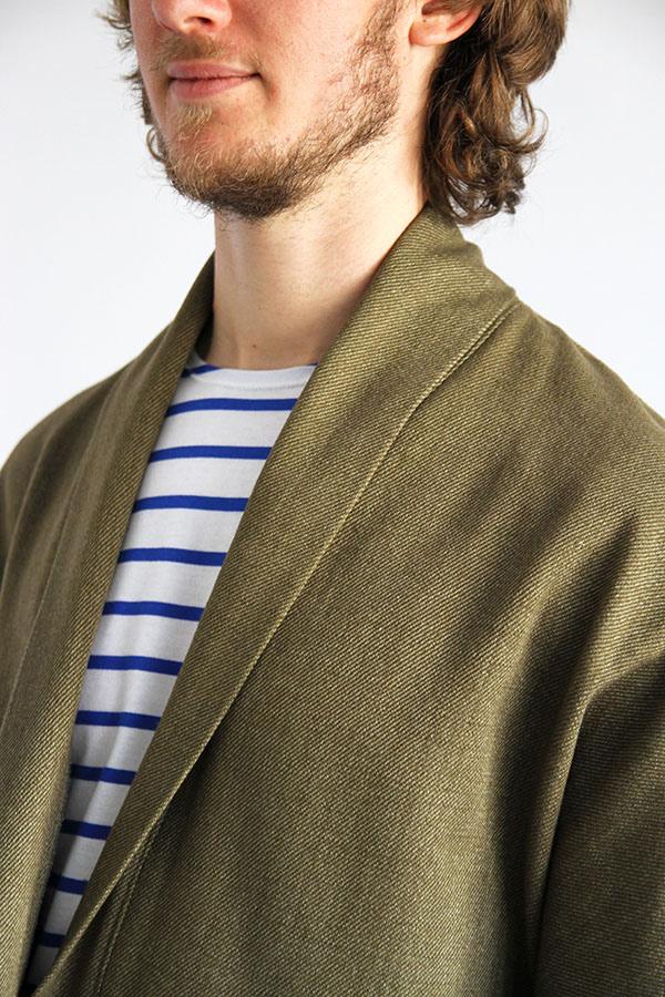 I AM Patterns - Men sewing pattern - Artemis jacket detail neckline