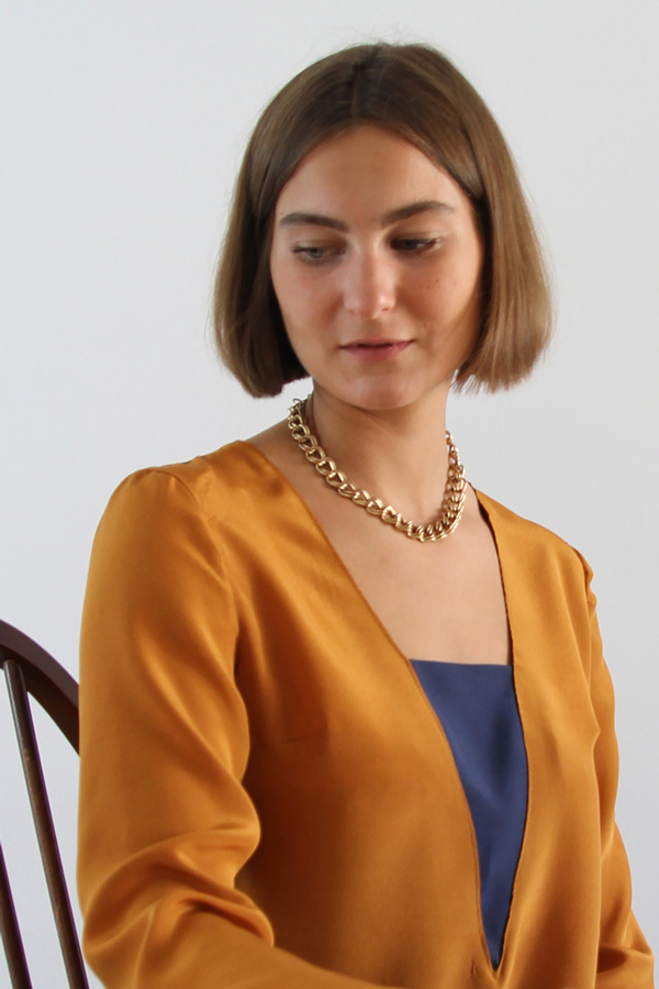 I AM Patterns Patron Couture Blouse Flora Zoom