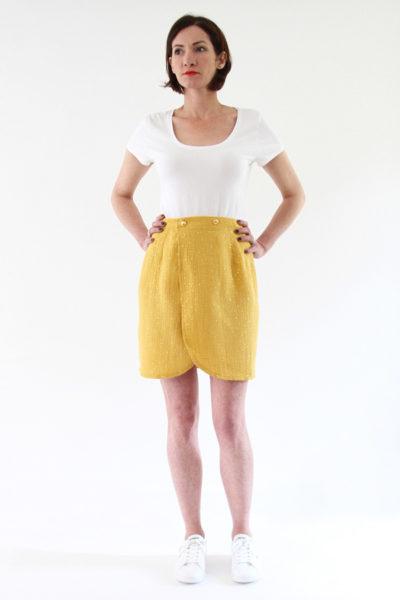 I AM Patterns - Sewing pattern Malo wrap skirt - tulip shape