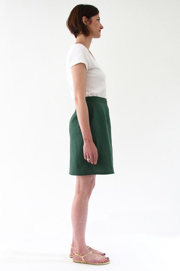 I AM Patterns Patron Couture Malo Jupe Tulipe