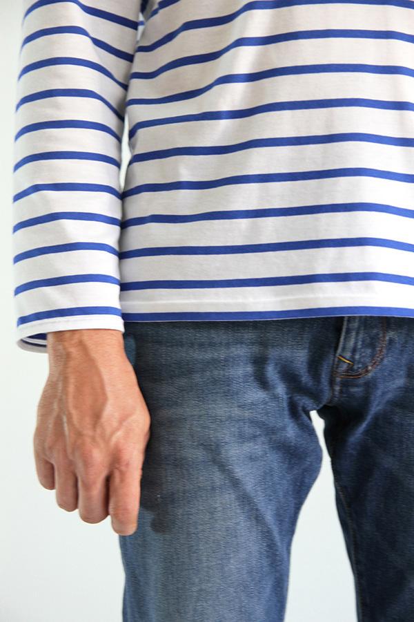 I AM Patterns Patron Couture Milor T Shirt Manches Longues Hommes