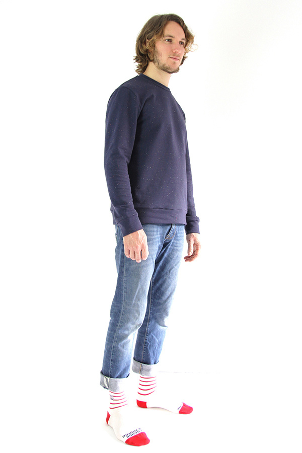 I AM Patterns Patron Couture Hommes Sweatshirt
