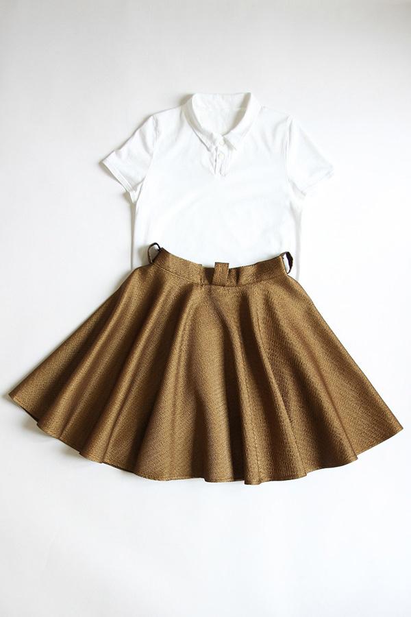 I AM Patterns - Duo bundle Chouette polo shirt - Felicie skirt