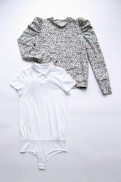 I AM Patterns Patron Couture Duo Pack Promo Lot Sweat Shirt Lion Polo Chouette