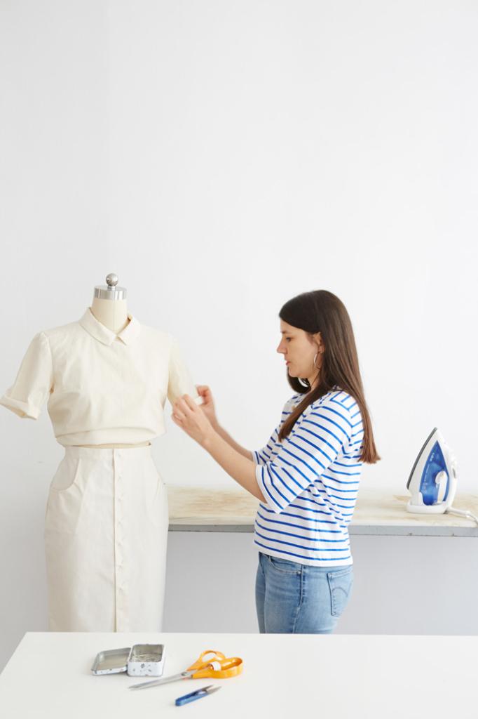 Marie Emilienne I Am Patterns Studio Cours De Couture Modelisme 3