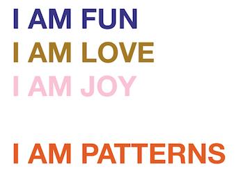 Carte de voeux couture I AM Patterns
