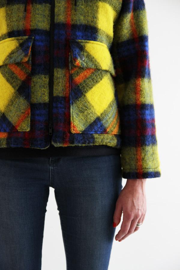 I AM Patterns Jacques Patron Couture Cire Manteau Pluie Detail