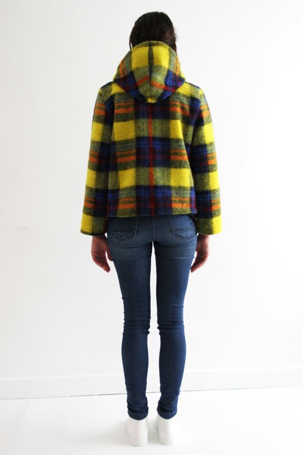 I AM Patterns Jacques Patron Couture Cire Manteau Pluie Dos