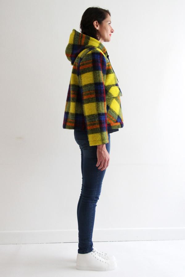 I AM Patterns Jacques Patron Couture Cire Manteau Pluie Profil