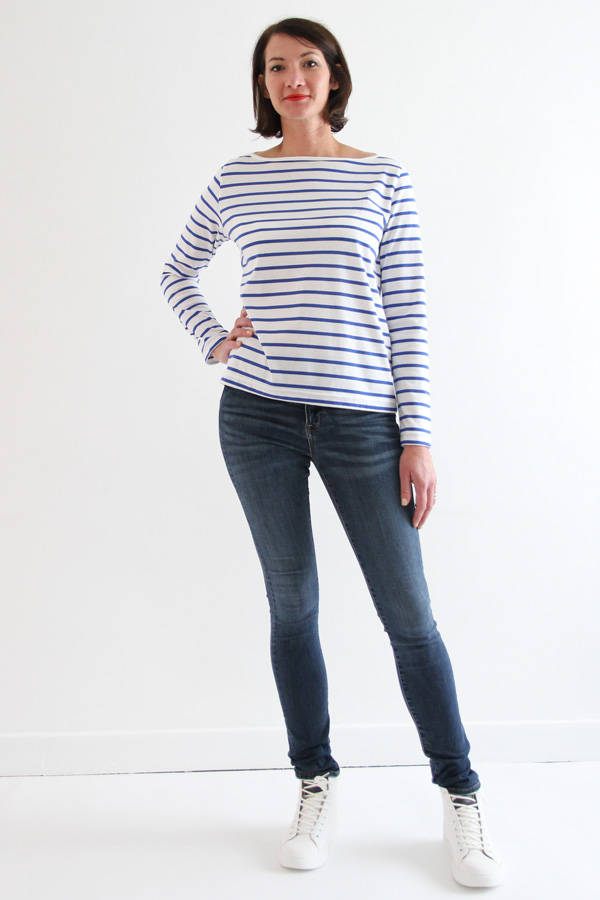 I AM Patterns sewing pattern Milor sailor t-shirt long sleeve