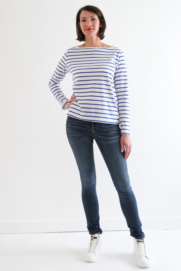 I AM Patterns sewing pattern Milor sailor t-shirt long sleeve