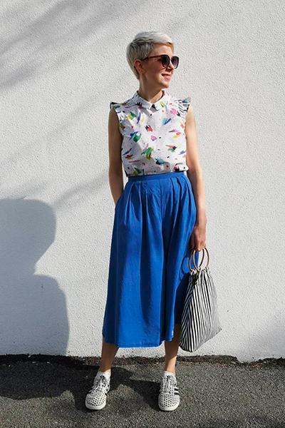 I AM Patterns Patron Couture Chemise Juliette Par The.polka .dot .palace Portrait