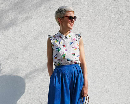 I AM Patterns Patron Couture Chemise Juliette Par The.polka .dot .palace Profil