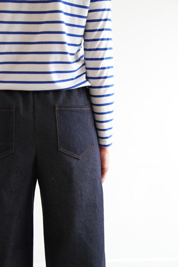 I AM Patterns Armor Patron Couture Pantalon Marin Simple Details Poche