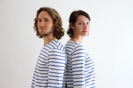 I AM Patterns Patron Couture Duo Femmes Hommes Baniere