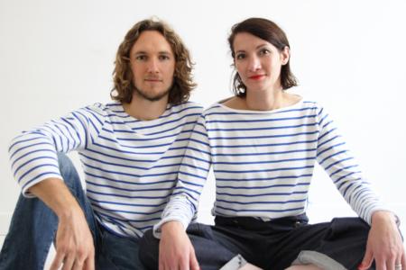 I AM Patterns Patron Couture Duo Hommes Femmes Baniere