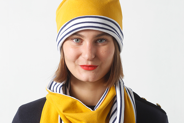 I AM Patterns Patron Couture Blog Comment Coudre Bonnet Echarpe Jersey