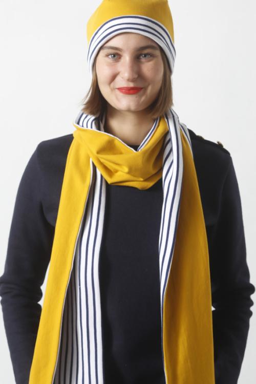 I AM Pattern Patron Couture Bonnet Echarpe Gratuit Michel Michelle