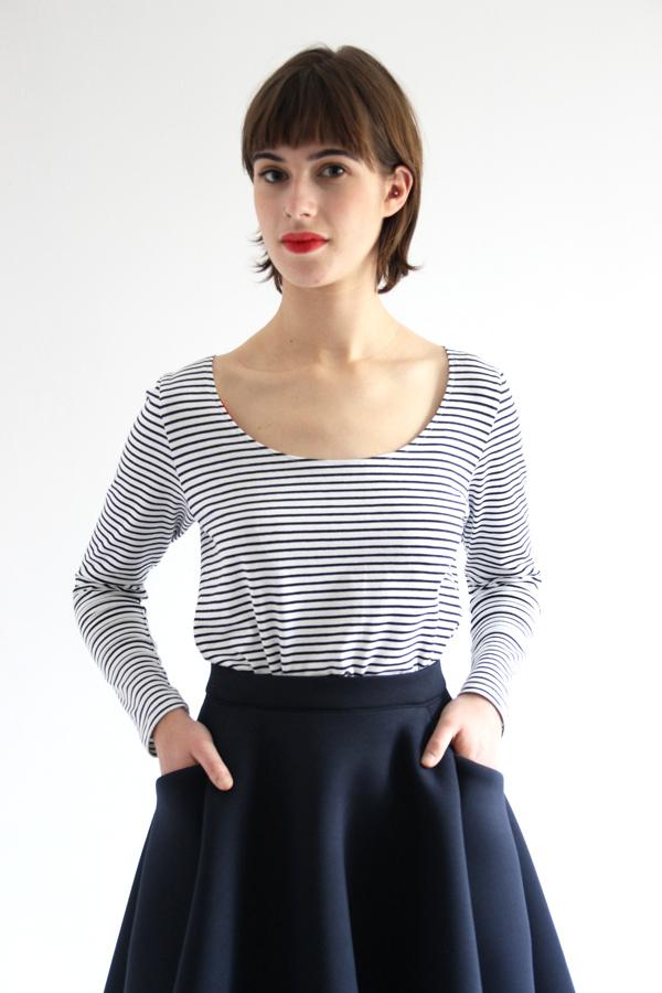 I AM Patterns sewing pattern Collab Ledressingdecindy Bodysuit T Shirt Chantal