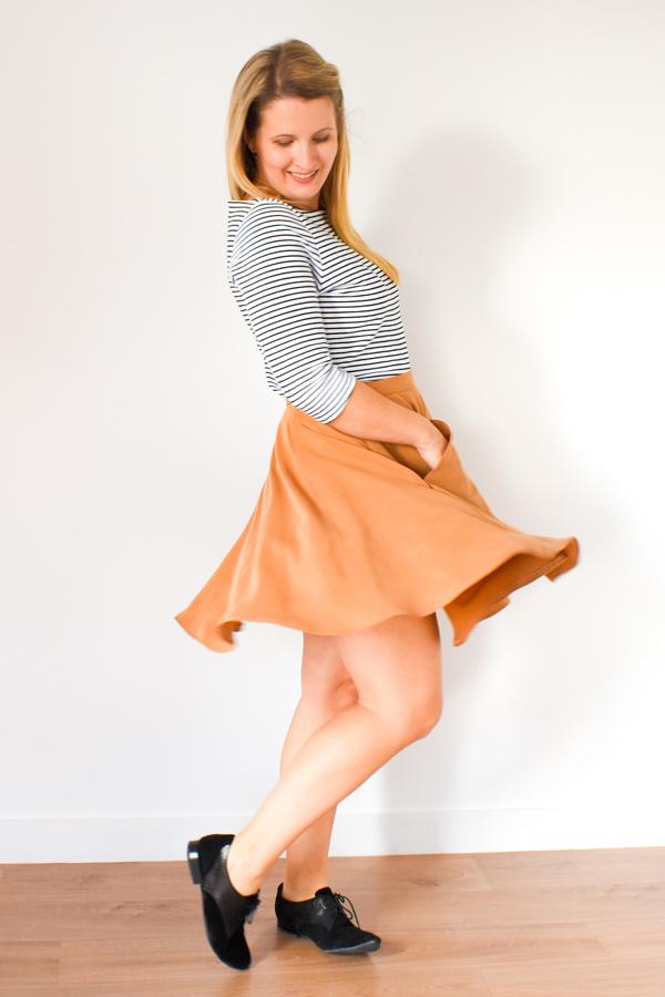I AM Patterns Patron Couture Cindy Jupe Patineuse Collab @ledresingdecindy
