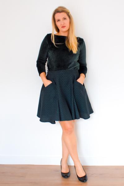 I AM Patterns Patron Couture Collab Ledressingdecindy Jupe Cindy 22