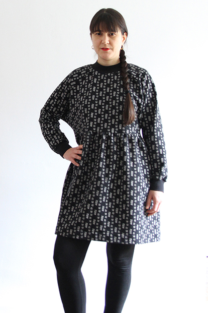 I AM Patterns Sewing Pattern Cassiopée Jersey Dress