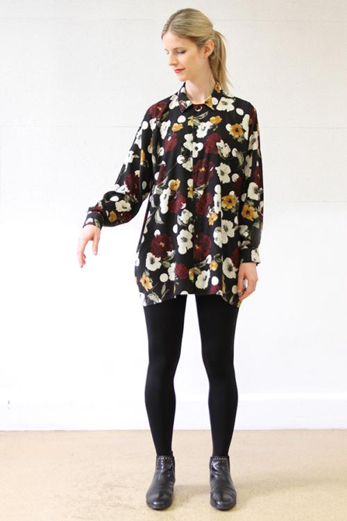 I AM Patterns - Patron couture extension gratuite - Chemise Lucienne - Manches classiques