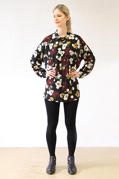 I AM Patterns - Patron couture extension gratuite - Chemise Lucienne - Manches classiques devant