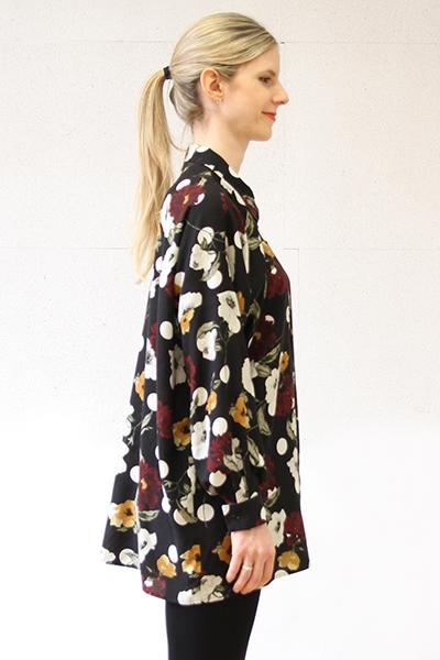 I AM Patterns - Patron couture extension gratuite - Chemise Lucienne - Manches classiques angle