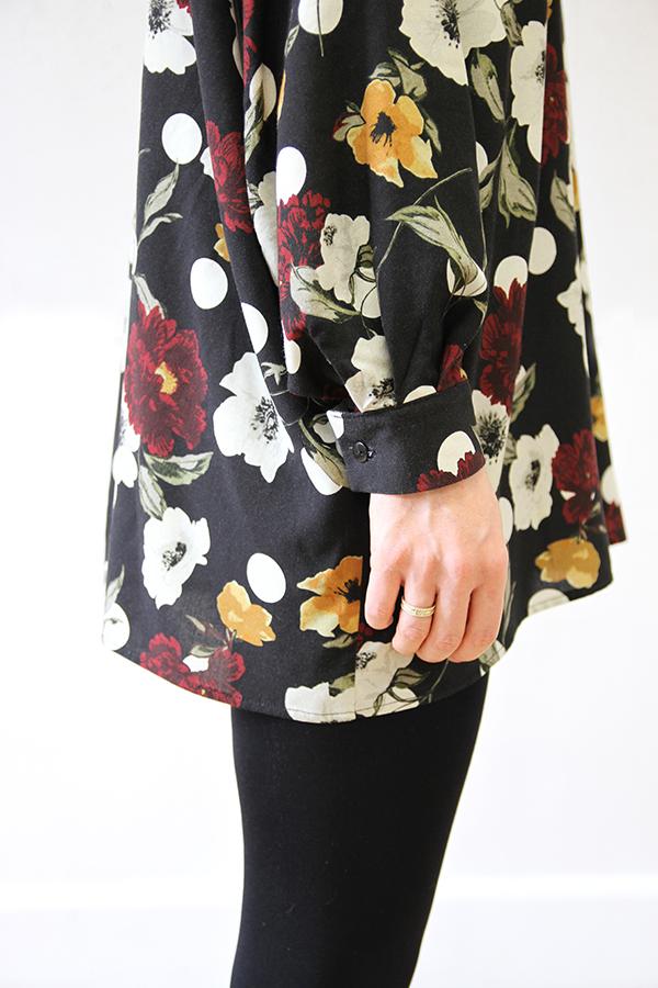 I AM Patterns - Patron couture extension gratuite - Chemise Lucienne - Manches classiques angle zoom