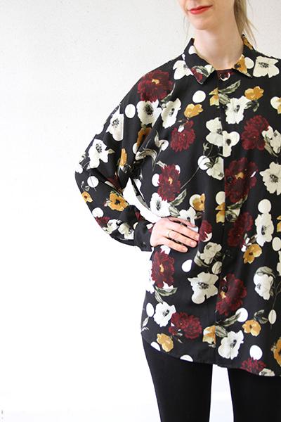 I AM Patterns - Patron couture extension gratuite - Chemise Lucienne - Manches classiques zoom