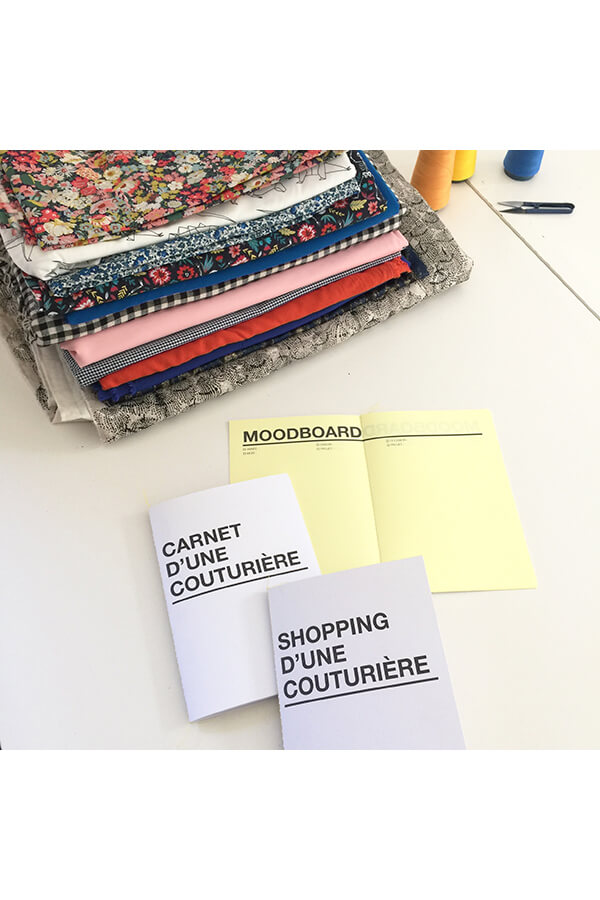 I AM Patterns Organiseur Couture différents carnets intérieur