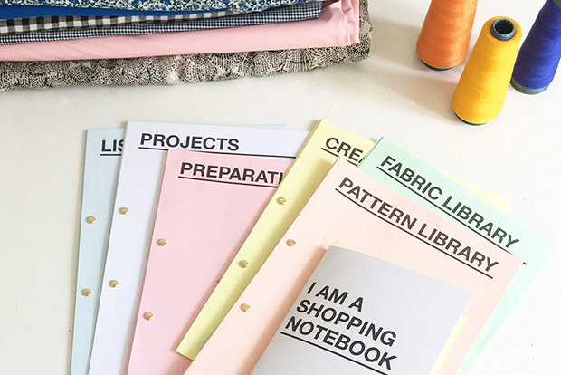 I AM Patterns sewing planner to organise all sewing projects